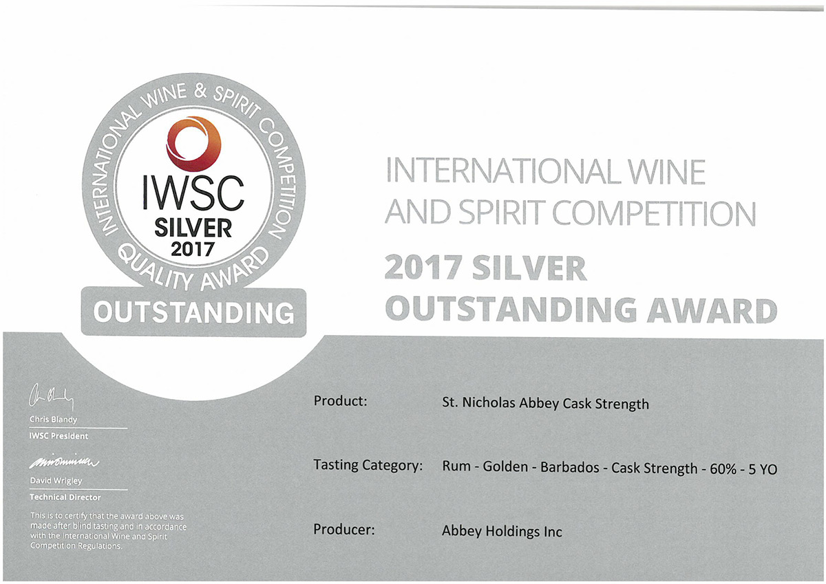International Wine & Spirit Competition 2017